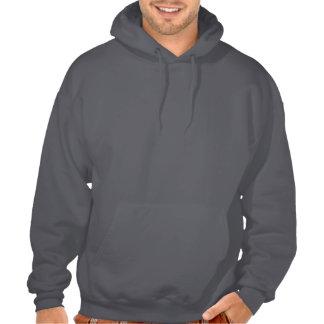 Merkwürdiges leeres Stellen-geistlichSweatshirt Kapuzensweatshirts