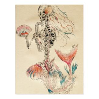 Mermaid.jpg Postkarte