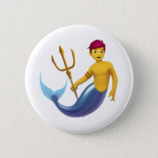Merman - Emoji Runder Button 5,1 Cm