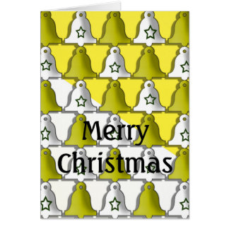 Merry Christmas an a happy new year Grußkarte