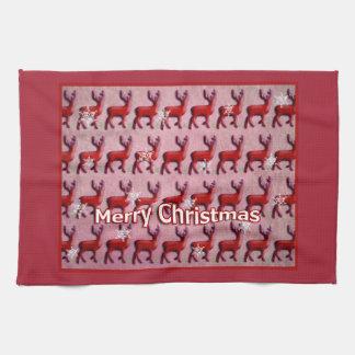 Merry Christmas, deers Küchenhandtücher