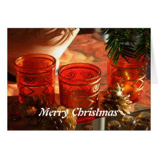Merry Christmas Grußkarte