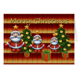 Merry Christmas Karten