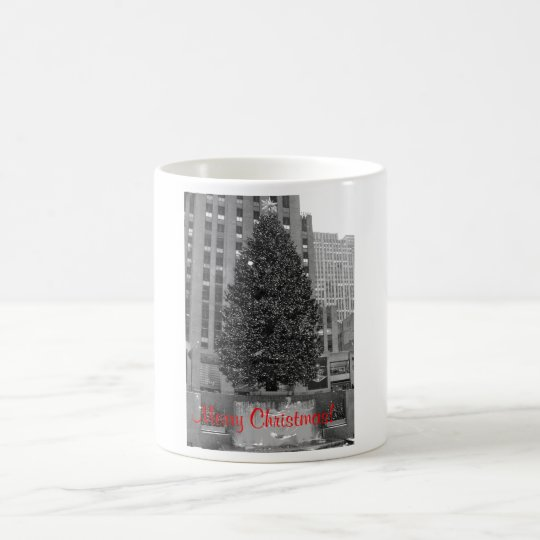 Merry Christmas! Rockefeller Center Kaffeetasse