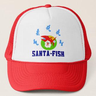 ♫♥Merry Sankt-Fische unglaublich witzig Truckerkappe