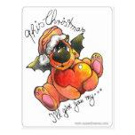 merry xmas, frohe weihnachten postkarte post card