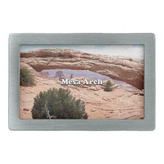 MESA-Bogen: Canyonlands Nationalpark, Utah Rechteckige Gürtelschnalle