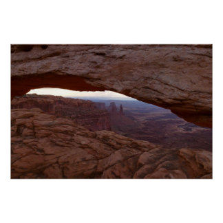 MESA-Bogen I von Canyonlands Nationalpark Poster