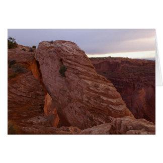 MESA-Bogen II von Canyonlands Nationalpark Karte