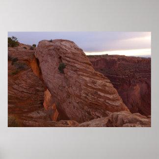MESA-Bogen II von Canyonlands Nationalpark Poster
