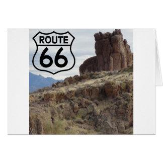 MESA des Weg-66 Karte