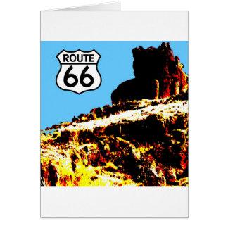 MESA des Weg-66 wild Karte
