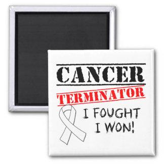 Mesotheliom-Krebs-Abschlussprogramm Kühlschrankmagnete