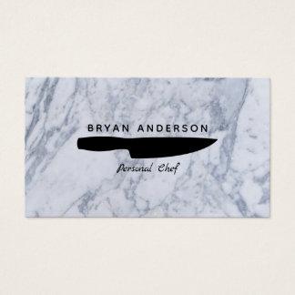 Messer-persönliche Kochs-Geschäfts-Karte Visitenkarte