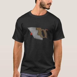 Messer und Tomate T-Shirt