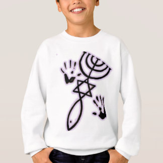 Messianische Drucke Sweatshirt