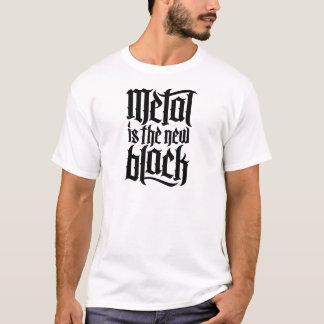 Metall ist das neue Schwarze No.2 (Schwarzes) T-Shirt