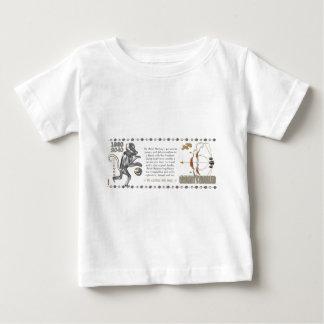 Metallaffe-Tierkreis Schütze 1980 Baby T-shirt