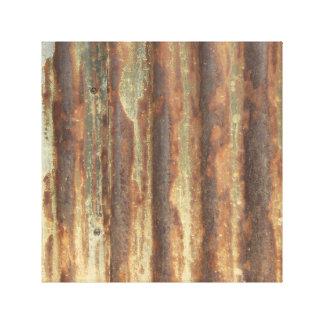 Metallbeschaffenheit Leinwanddruck