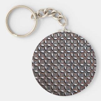 Metallblatt-rostige antike Kram-Art-Mode-Kunst Schlüsselanhänger