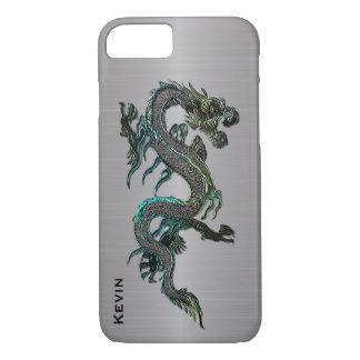 Metallblick-asiatischer Drache iPhone 7 Fall iPhone 8/7 Hülle