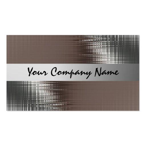 Metallblick-Visitenkarten