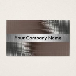 Metallblick-Visitenkarten mit Klasse Visitenkarte