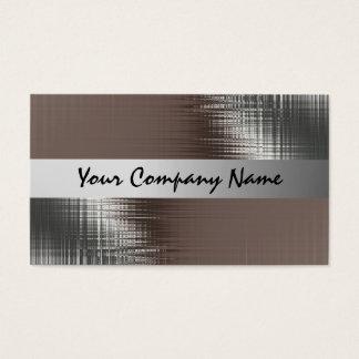 Metallblick-Visitenkarten Visitenkarte