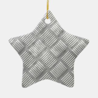 Metalldiamantplatte Keramik Stern-Ornament