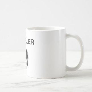 Metaller Kaffeetasse