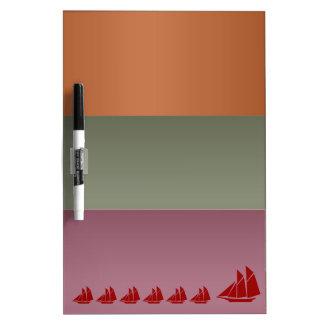Metallfarbstreifen - Reise-Segel-Ferien-Reise Memo Boards