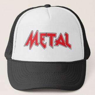 Metallfernlastfahrer-Hut Truckerkappe