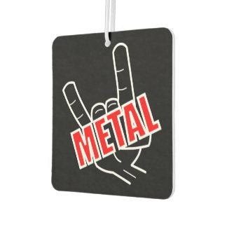 Metallgruß Lufterfrischer