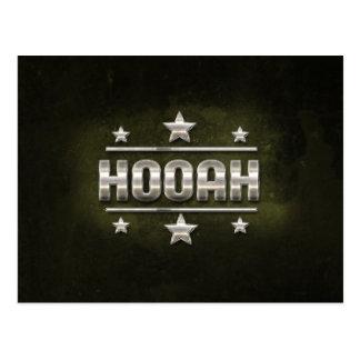 MetallHooah Text Postkarten