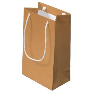 Metallische bronzefarbige Geschenk-Tasche Kleine Geschenktüte