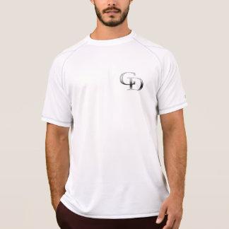 Metallische CD Muskel-Abkürzung T-Shirt