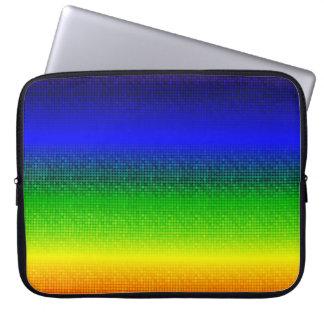 """Metallische Punkt-klare Neopren-Laptop-Hülse 15"""" Laptop Sleeve"""