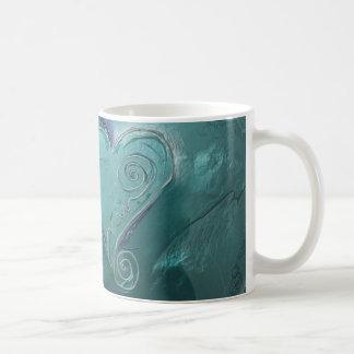 Metallische Überlegungs-Tasse Kaffeetasse