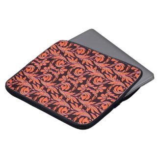 Metallische Welle-Orange-Lila-Laptop Hülse 15in Laptop Sleeve