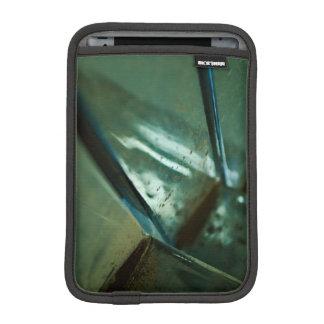 metallischer abstrakter Reflexionsstahlentwurf Sleeve Für iPad Mini