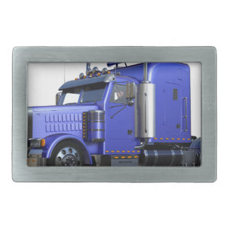 Metallischer Blau-halb Sattelzug-LKW Rechteckige Gürtelschnalle
