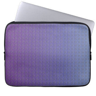 Metallischer Effekt Laptop Sleeve