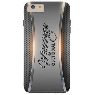 Metallischer Hintergrund 3 Tough iPhone 6 Plus Hülle