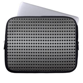 Metallischer Hintergrund Laptop Sleeve