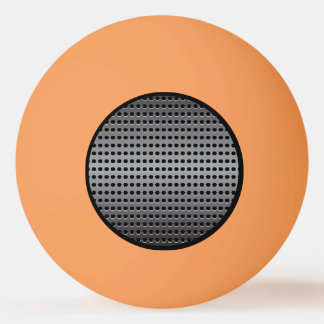 Metallischer Hintergrund Ping-Pong Ball