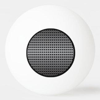 Metallischer Hintergrund Tischtennis Ball