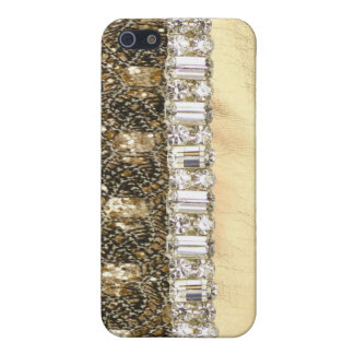 Metallischer Perlen-Glitzer u. Kristall IPhone Schutzhülle Fürs iPhone 5