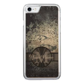 Metallischer rostiger MetallSchmutz Carved iPhone 8/7 Hülle