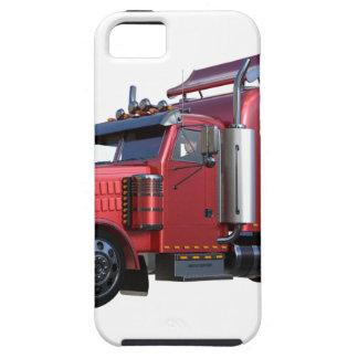 Metallischer Rot-halb Traktor Traler LKW Hülle Fürs iPhone 5