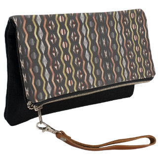 METALLISCHES AFRIKA ABSTRACT#1 CLUTCH